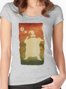 Are you a Gamblin' Man? Women's Fitted Scoop T-Shirt