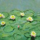 Monet's Water Lilies by Patty Vogler