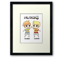 Mother 3/ Earthbound 2 Chibis Framed Print