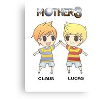 Mother 3/ Earthbound 2 Chibis Canvas Print
