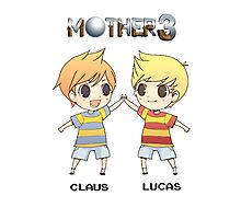Mother 3/ Earthbound 2 Chibis Photographic Print