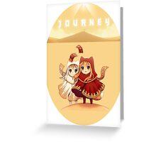 Journey Chibi Greeting Card