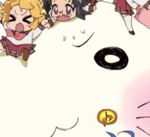 "Lucky Star Chibi ""Chibi Star!"" Sticker"