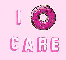 I doughnut care by Samantha Lusher