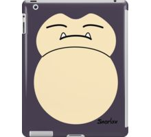 game faces: snorlax iPad Case/Skin