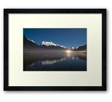 Eglinton Valley at night 2 Framed Print
