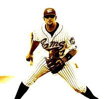 Classic baseball by Allan  Erickson