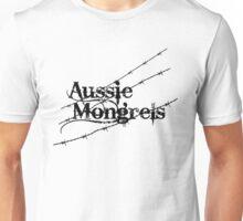 AUSSIE MONGRELS 01 'BLACK' Unisex T-Shirt