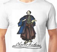 Samurai Charles Dickens Unisex T-Shirt