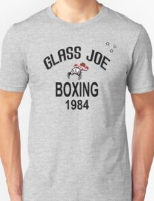 Punch-Out!!! Glass Joe Boxing T-Shirt