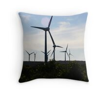 The Answer Is Blowin' In the Wind. Throw Pillow