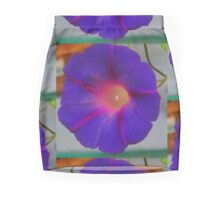 The Purple Morning Glory Pencil Skirt