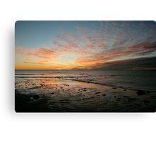 Yardie Creek Sunset Canvas Print