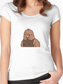 Big Lez Show Owly Women's Fitted Scoop T-Shirt