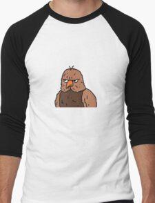 Big Lez Show Owly Men's Baseball ¾ T-Shirt