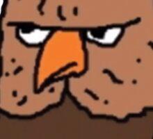 Big Lez Show Owly Sticker
