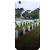 Rosecrans Military Cemetery iPhone Case/Skin