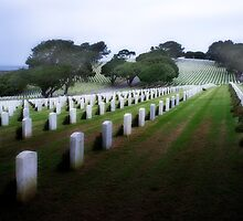 Rosecrans Military Cemetery by Hugh Smith