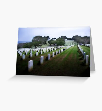 Rosecrans Military Cemetery Greeting Card