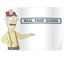 Rick and Morty: Real Fake Doors Poster