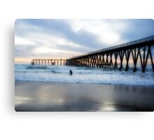 Sundown on Rosarito Beach Canvas Print