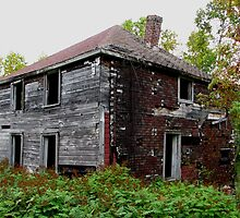 Ghost Town of Jackfish Ontario by loralea