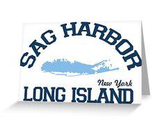Sag Harbor - Long Island.  Greeting Card