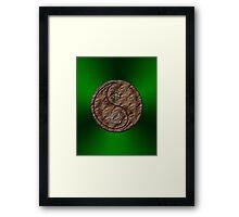 Taurus & Snake Yin Earth Framed Print
