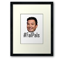#FalPals Black Framed Print