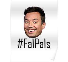 #FalPals Black Poster