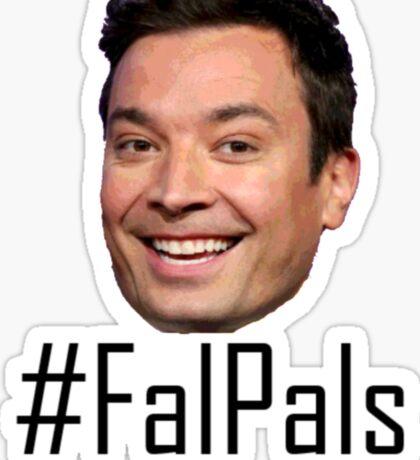 #FalPals Black Sticker