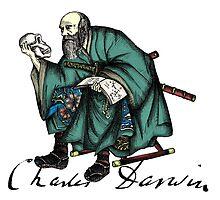 Samurai Charles Darwin by QStar