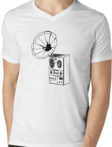 GrammaPhone! Mens V-Neck T-Shirt