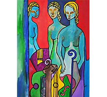 Three Muses Photographic Print