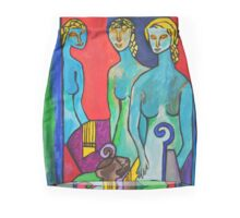 Three Muses Mini Skirt