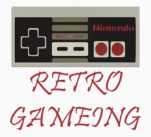 Retro Gaming by JMoneyMC