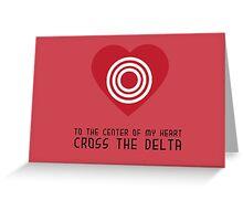Delta Greeting Card
