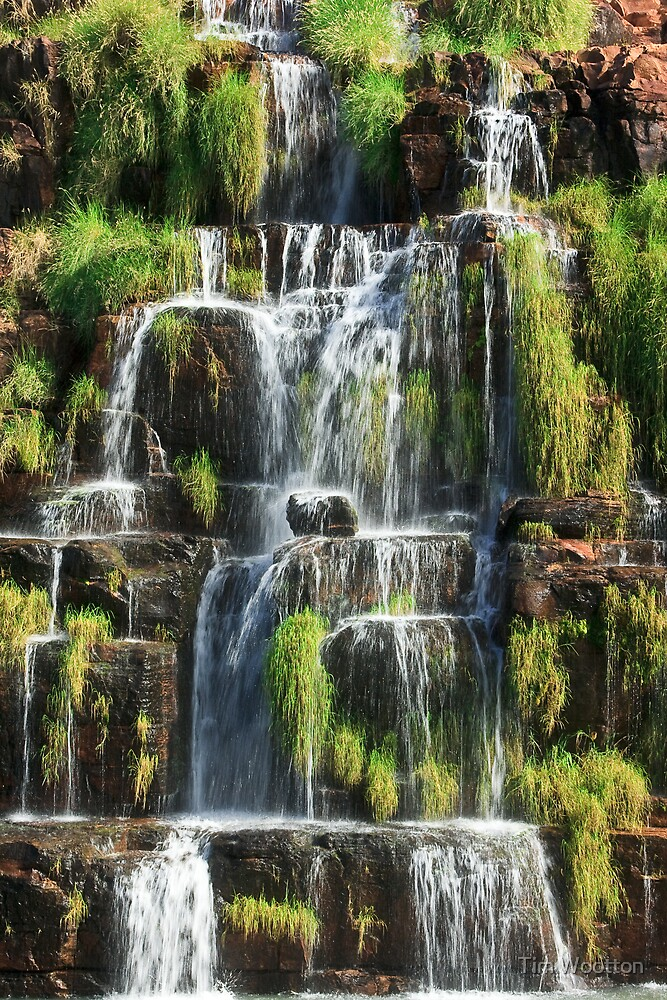 King's Cascade by Tim Wootton