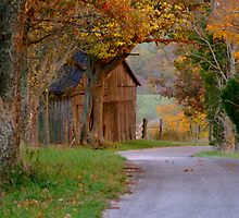 Past the Kentucky Barn  by Kirstyshots