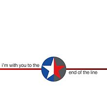'to the end of the line' split star by cindella204