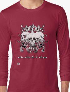 Updated Design!!!! 0909 Dubstep Skulls Long Sleeve T-Shirt