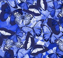 Composition With Echoed Butterflies #6  by Ivana Redwine