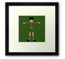 Hunter. Framed Print