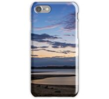 The lowering tide iPhone Case/Skin