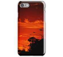 Red in the City iPhone Case/Skin