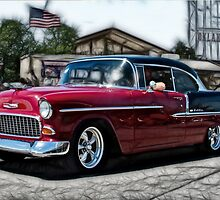Double Nickel,......55 Chevy by JohnDSmith