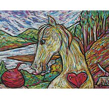 Hearty Horse Photographic Print
