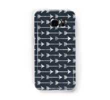 Chalkboard Black and White Tribal Arrow Pattern Samsung Galaxy Case/Skin