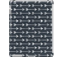 Chalkboard Black and White Tribal Arrow Pattern iPad Case/Skin