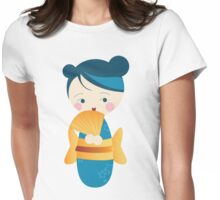 kimono ♥ doll Womens Fitted T-Shirt